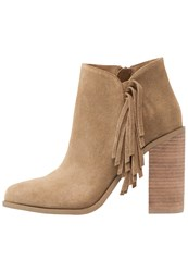 Senso Quillon Ankle Boots Hazelnut Camel