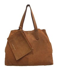 Chinese Laundry Karlina Deconstructed Tote Cognac