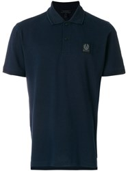 Belstaff Stannett Polo Shirt Cotton Blue