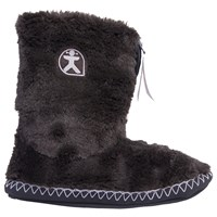 Bedroom Athletics Marilyn Faux Fur Slipper Boots Black