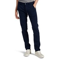 Mason Tricotine Jersey Slim Fit Trousers Navy