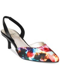Impo Elate Slingback Pumps Women's Shoes Bright Multi