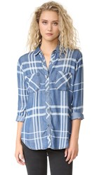 Rails Carter Button Down Shirt Cadet
