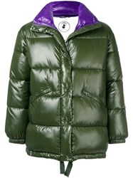 Save The Duck Disney Patch Padded Coat Green