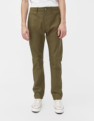 Rogue Territory Field Twill Pant In Olive Olive Twill