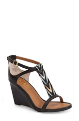 Seychelles 'Slam' Wedge Sandal Women Black
