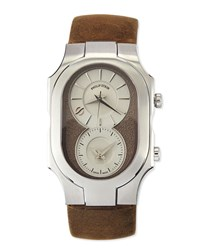Philip Stein Teslar Signature Analog Watch Brown Philip Stein