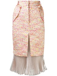 Daizy Shely Chanel Organza Skirt Women Cotton Acrylic Polyester Other Fibers 44
