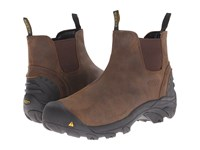 Keen Utility Detroit Slip On Cascade Brown Men's Industrial Shoes
