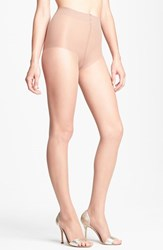 Women's Donna Karan 'The Nudes' Control Top Toeless Hosiery B02
