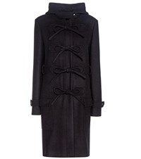 Balenciaga Wool Blend Coat Black