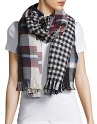 Steve Madden Printed Wrap Scarf Multi Colored