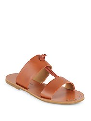 Lucky Brand Anlissa Slip On Strappy Sandals Brown