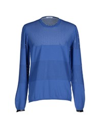 H Sio Knitwear Jumpers Men Blue