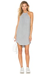 Bella Dahl Seams Halter Dress Gray