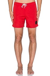 G Star Devano Cord Swimshorts Red