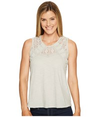 Aventura Clothing Tierney Tank Top High Rise Women's Sleeveless Silver
