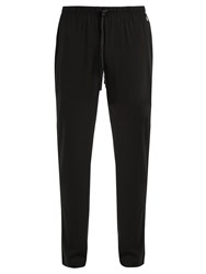 Polo Ralph Lauren Logo Embroidered Pyjama Trousers Black