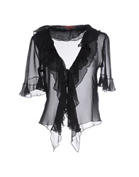 Pancaldi And B Shirts Blouses Women Black