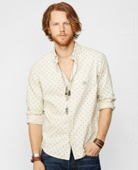 Denim And Supply Ralph Lauren One Pocket Star Shirt White Star