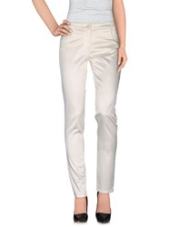 Compagnia Italiana Trousers Casual Trousers Women Ivory