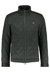 Gant The Quilted Windcheater Light Jacket Country Green Khaki