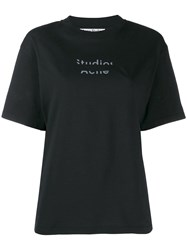 Acne Studios Boxy Fit T Shirt Black