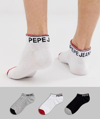Pepe Jeans Trainer Socks Parry Multi