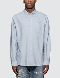 Denim By Vanquish And Fragment Icon Oxford L S Shirt