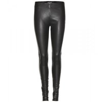 Balenciaga Stretch Leather Leggings Noir