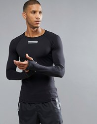 Influence Active Long Sleeve Top Black