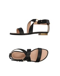 Dibrera By Paolo Zanoli Footwear Sandals Black