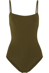 Eres Les Essentiels Aquarelle Swimsuit Army Green