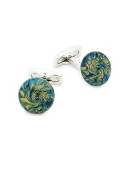 Ike Behar Fenton Toggle Cufflinks Multi