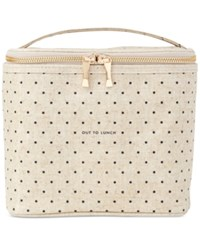 Kate Spade New York Lunch Tote Black Dots