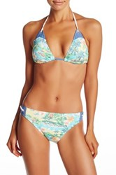 Sperry Sunbleached Beach Triangle Bikini Top Multi