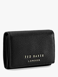 Ted Baker Odelle Mini Leather Foldover Purse Black