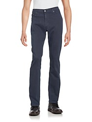Ag Adriano Goldschmied Cotton Blend Five Pocket Pants Meteor