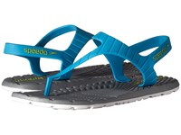 Speedo Exsqueeze Me Z9 Hawaiian Ocean Neutral Grey Women's Sandals Blue