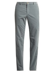 A.P.C. Slim Leg Cotton Corduroy Trousers Grey