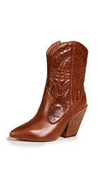 Jeffrey Campbell Midpark Western Boots Tan
