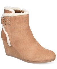 Giani Bernini Pattii Cold Weather Booties Only At Macy's Women's Shoes Caramel