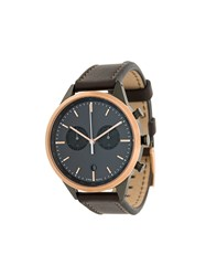Uniform Wares C41 Chronograph Watch Brown