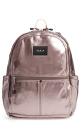 State Bags Downtown Kane Backpack Metallic Chrome