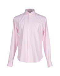 Mp Massimo Piombo Shirts Shirts Men Pink