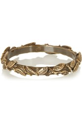 Pamela Love Bronze Plated Branch Bangle