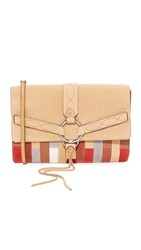 Rebecca Minkoff Patchwork Darling Convertible Clutch Sand Patchwork Multi