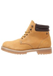 Jack And Jones Jfwstoke Laceup Boots Honey Light Brown