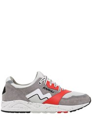 Karhu Aria Faux Suede And Nylon Sneakers
