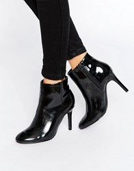 Pieces Psrecha Heeled Ankle Boots Black